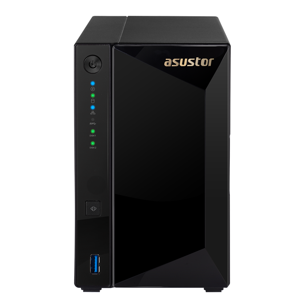 NAS 2 baies Marvell 1.6GHz /2G AS4002T de Asustor