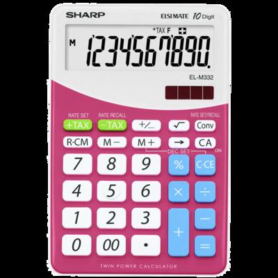 Calculatrice EL-M332B-PK Rose de Sharp