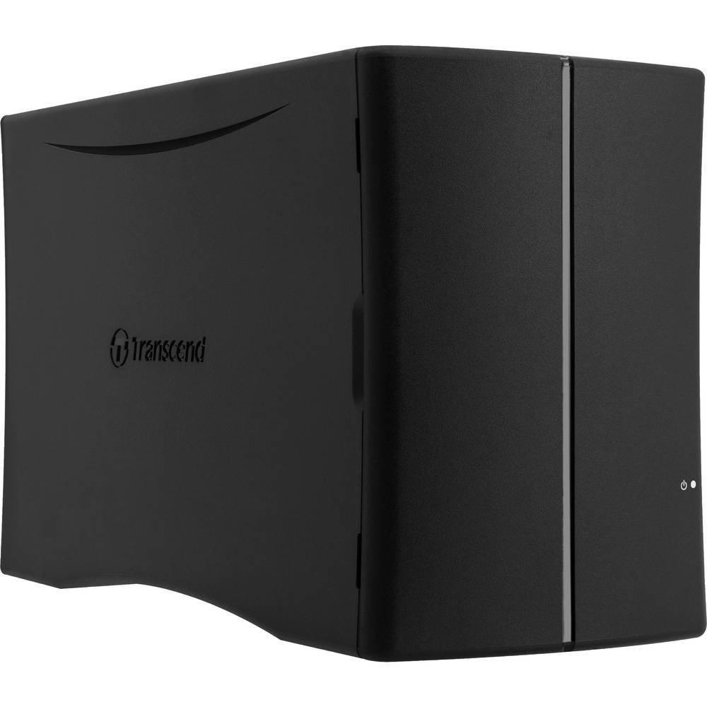 StoreJet® Cloud 210N 2 BAIES (sans disque) de Transcend