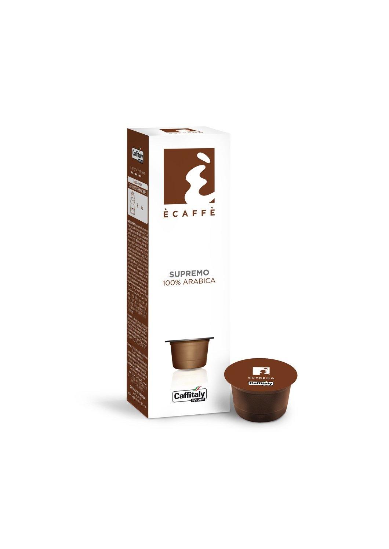 12 Boîtes de 10 capsules Ècaffè Supremo 100% Arabica de Caffitaly