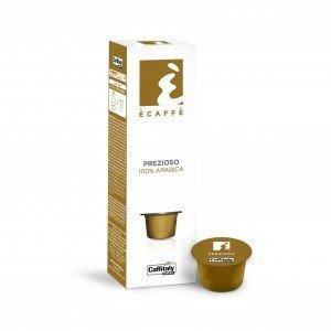 12 Boîtes de 10 capsules Ècaffè Prezioso 100% Arabica de Caffitaly