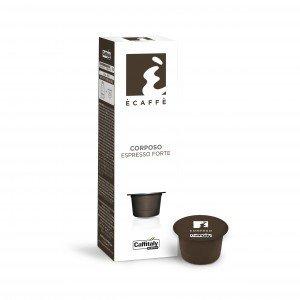 12 Boîtes de 10 capsules Ècaffè Corposo Espresso Forte de Caffitaly