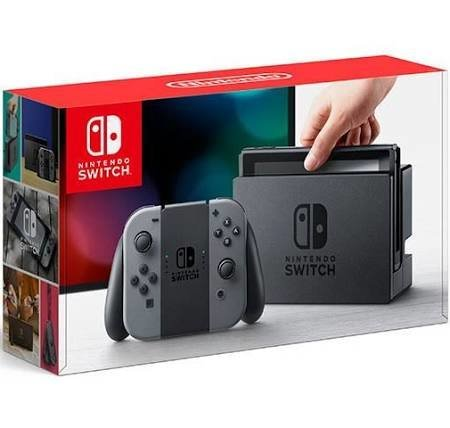 Console Nintendo Switch avec deux Joy‑Con™ gris de Nintendo
