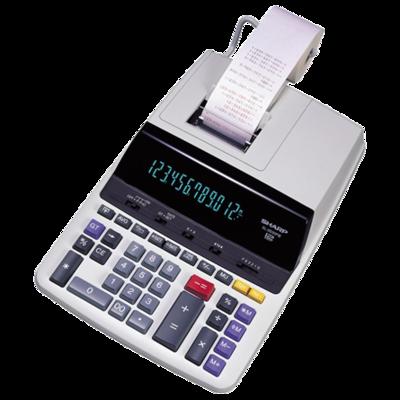 Calculatrice à imprimante EL2630PIII de Sharp