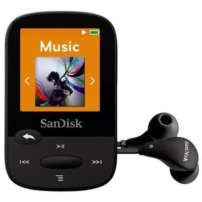 Lecteur MP3 Clip Sport Hydrofuge noir 8G de Sandisk