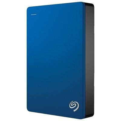 Disque dur externe portatif de 2,5 po 4 To USB 3.0 Backup Plus Slim de Seagate (STDR4000901) - Bleu