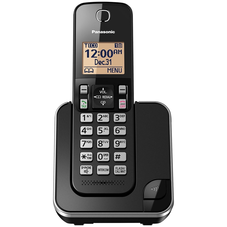Système téléphonique sans fil numérique avec 1 combiné de Panasonic