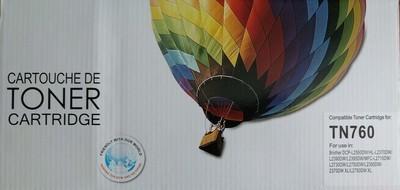 Cartouche de toner compatible brother TN760 de Balloon Brand