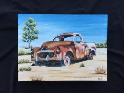Abandoned FJ Holden