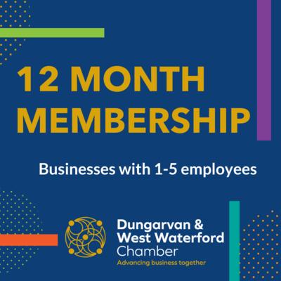 Chamber 12 Month Membership (1-5 Employees)