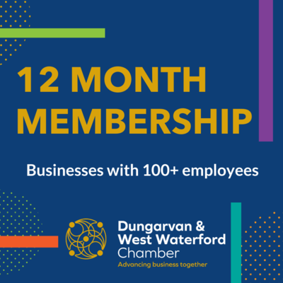 Chamber 12 Month Membership (100+ Employees)