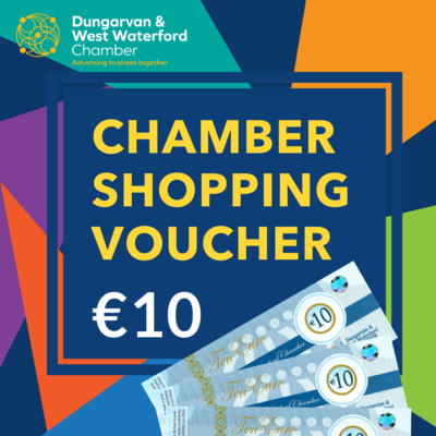 Chamber Shopping Voucher - €10