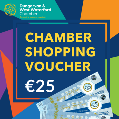 Chamber Shopping Voucher - €25