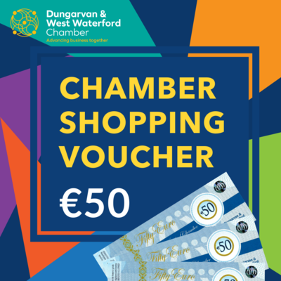 Chamber Shopping Voucher - €50
