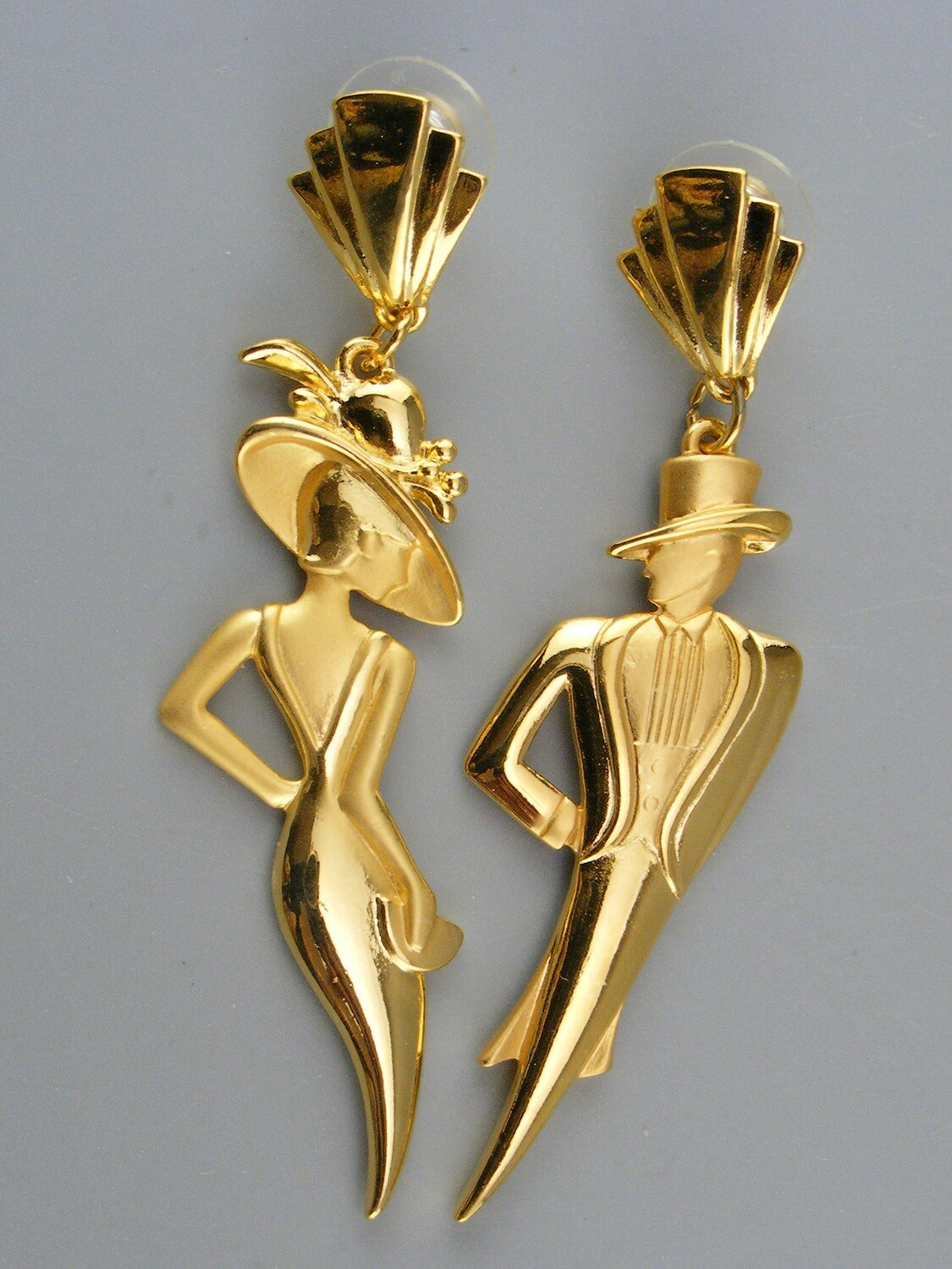 JJ Jonette Gatsby Style Earrings