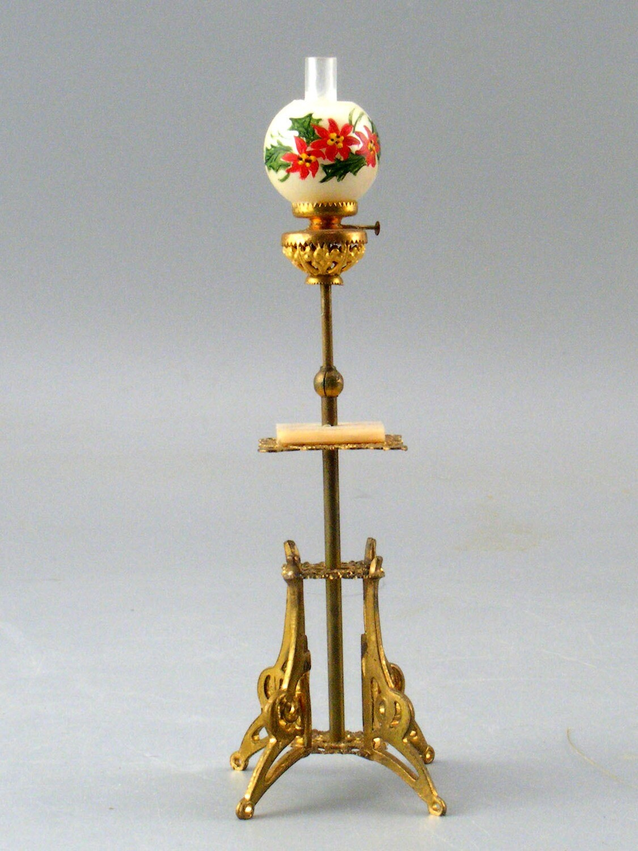Victorian Style Soft Metal Floor Lamp