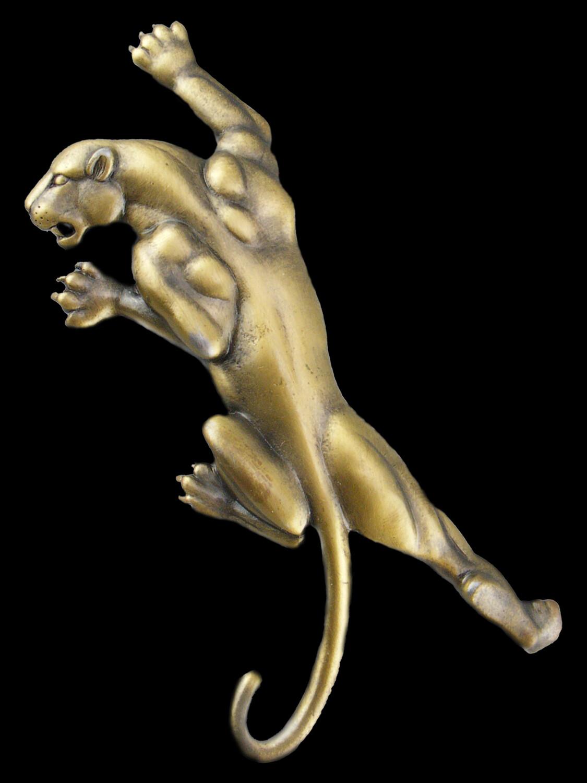 J J Jonette Large Panther Brooch