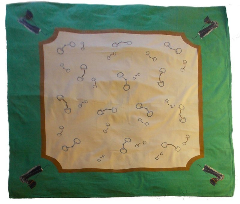 Marble Canyon Equestrian Tablecloth