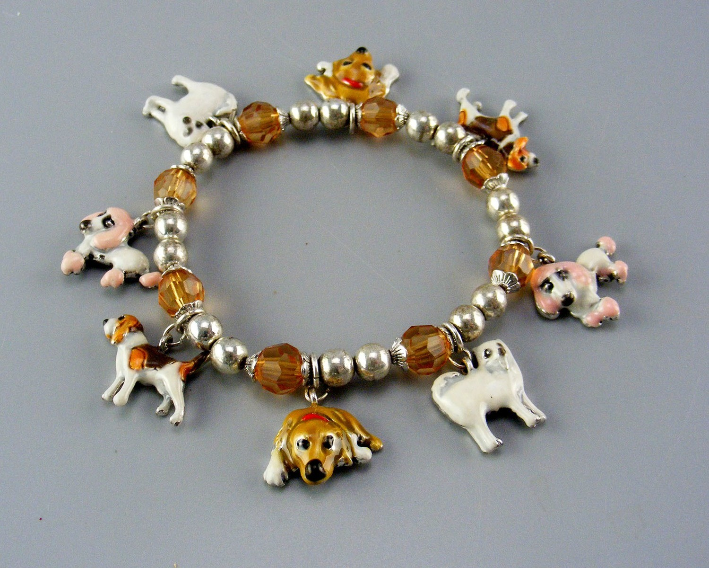 Two Stretch Type Dog Bracelets