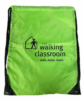 Drawstring Backpack for walking with tablets
