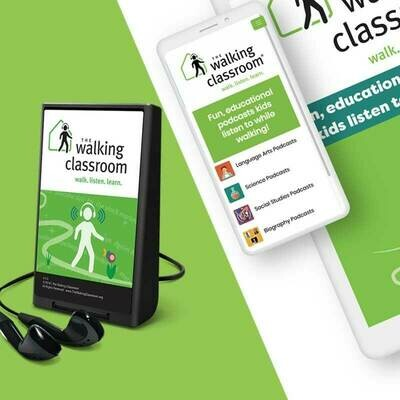 FEB SPECIAL! Walking Classroom WalkKit/Mobile App Bundle