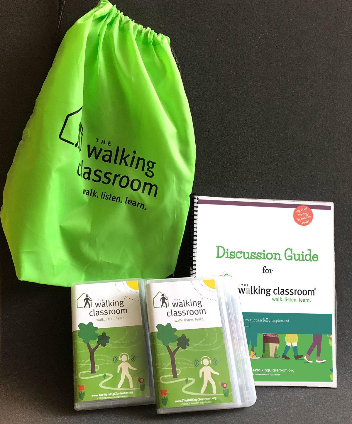The Walking Classroom Home Kit