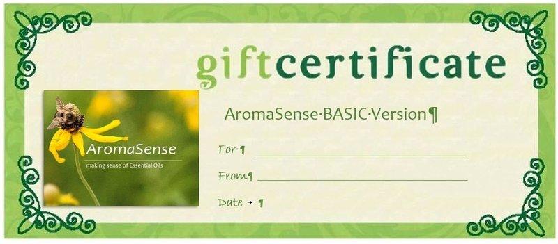AromaSense BASIC Version GIFT