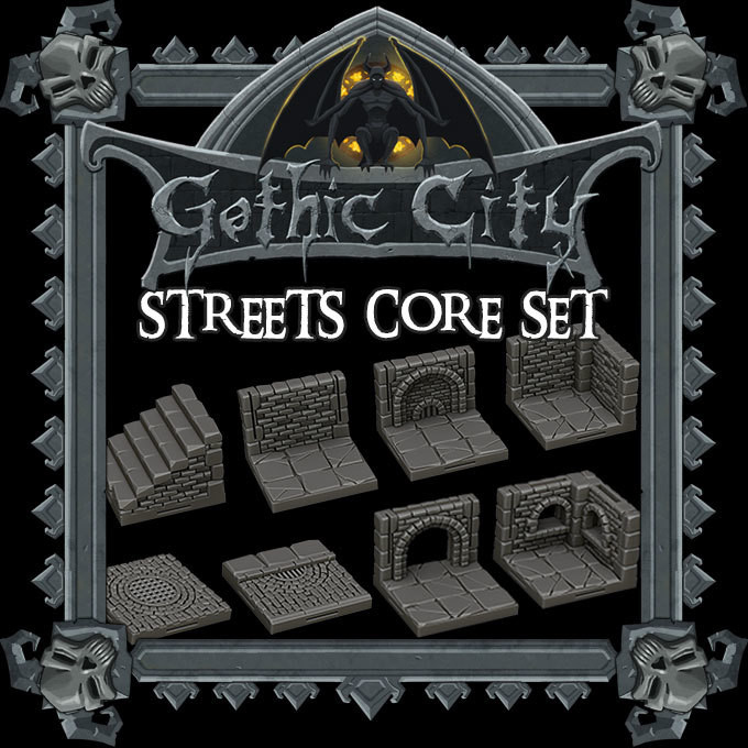 Gothic City Streets Core