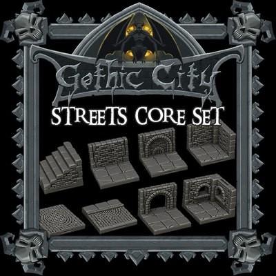 Gothic City Streets Core