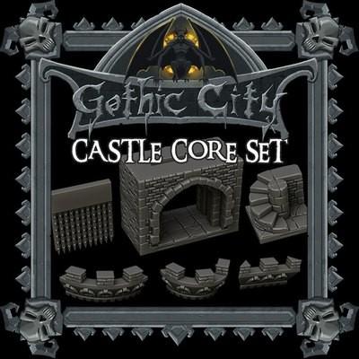 Gothic City Castle Core