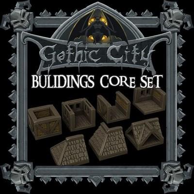 Gothic City Buildings Core