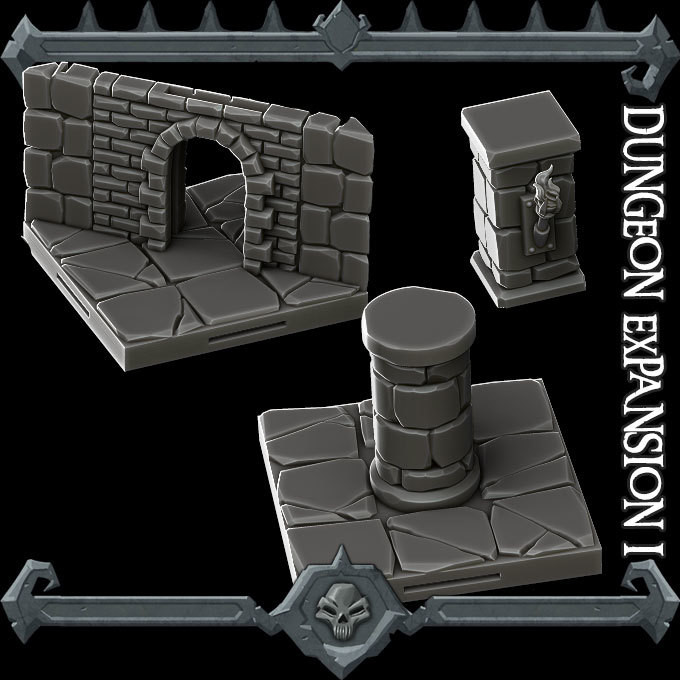 Gothic City Dungeon Expansion I