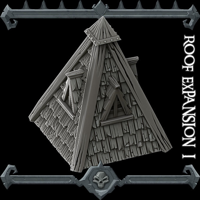 Gothic City Roof Expansion Pack I