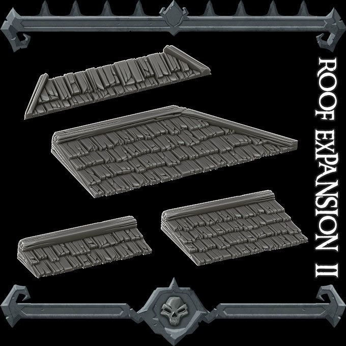 Gothic City Roof Expansion Pack II