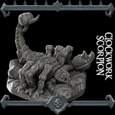 Clockwork Scorpion
