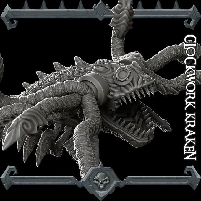 Clockwork Kraken