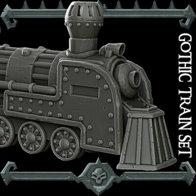 Gothic City Train Set