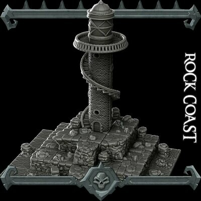 Gothic City Rock Coast