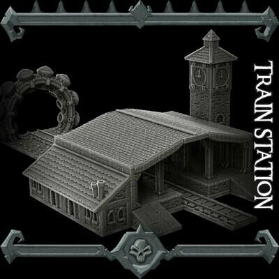 Gothic City Train Station