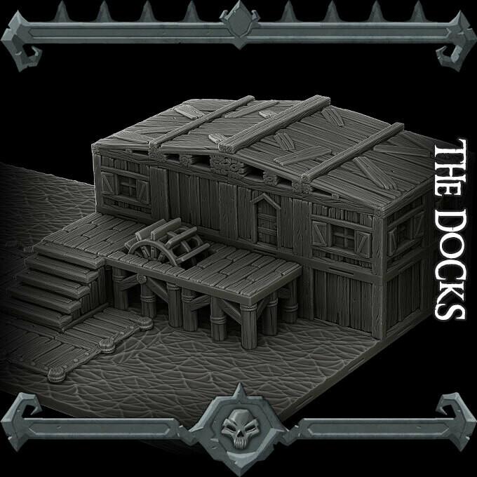Gothic City Docks