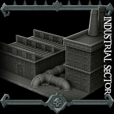 Gothic City Industrial Sector