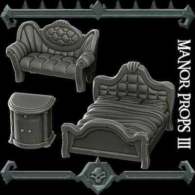 Manor Props Pack III
