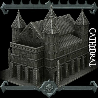 Gothic City Cathedral