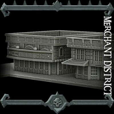 Gothic City Merchant District