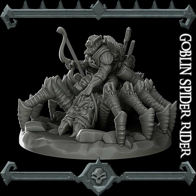 Goblin Spider Rider