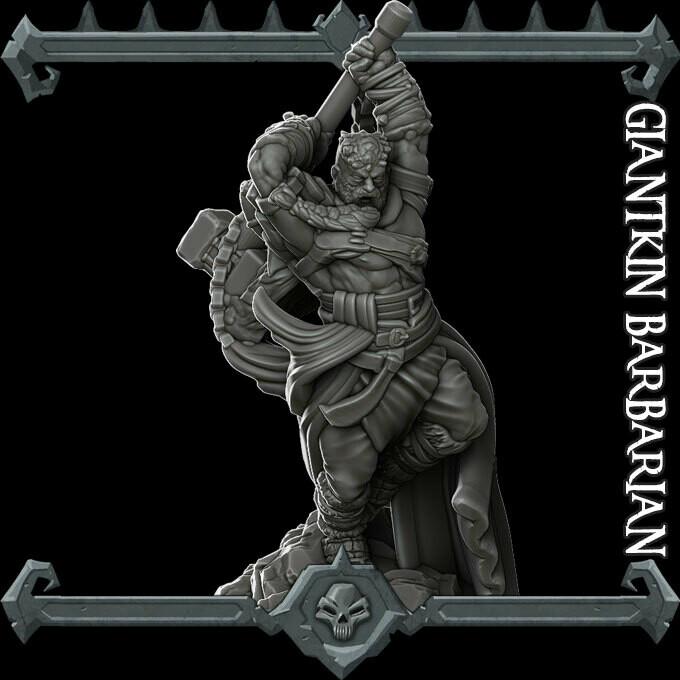 GiantKin Barbarian