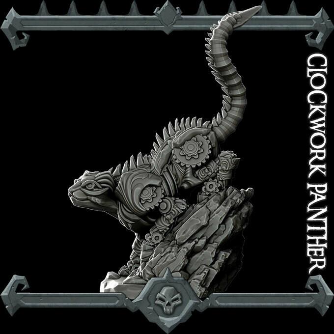 Clockwork Panther