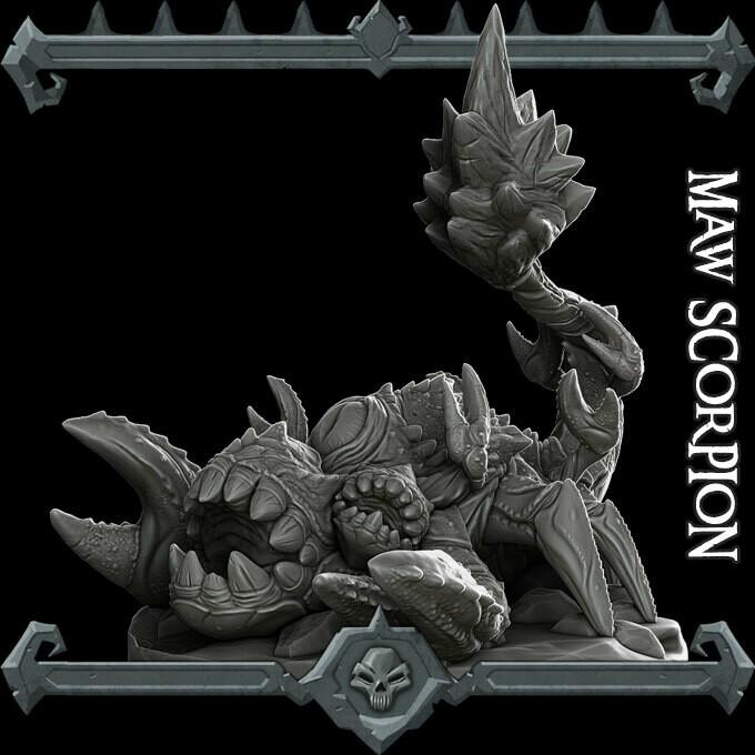 Maw Scorpion