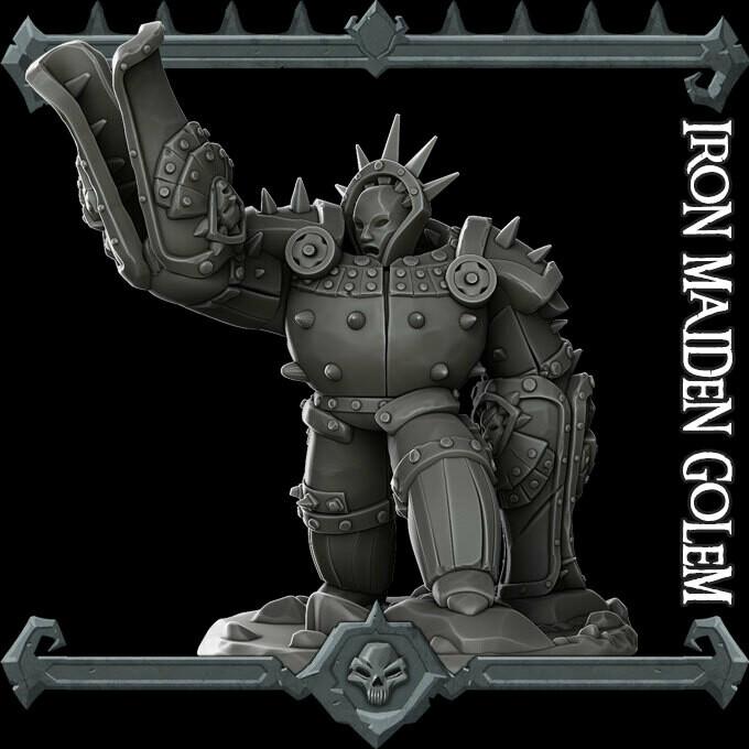Iron Maiden Golem