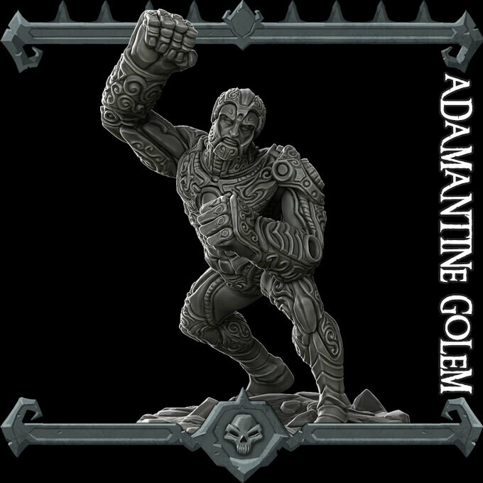 Adamantine Golem